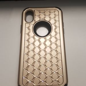 "Case for iphone XR 6.1"" color gold-black new"